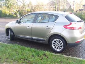 Renault Megane Dec 2012 (62 plate) 1.5 dCi Expression + 5dr (start/stop) 60mpg+ FSH MOT