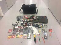Carp, course and sea fishing kit