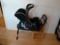 Britax Baby-Safe plus SHR car seat and matching ISOFIX Base 0-13kg -£50 ONO