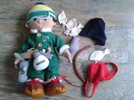 Fishing Rod Doll by Boots (complete, in excellent condition)