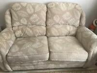 Two seater sofa suite as below buyer collects