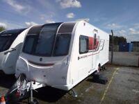 2015 Bailey Unicorn Vigo fixed bed four birth caravan