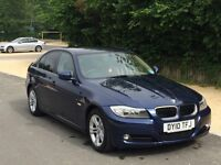 Beautiful BMW 3 series diesel, 2010,low miles, low tax, blue rare spec, the only 1 around!