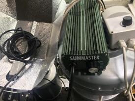 """Grow light digital sunmaster ballast 8"""" filter"""