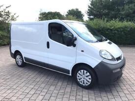 2006 Vauxhall Vivaro 1.9 CDTI 2700 SWB Van, 123K Miles, 12 MONTHS MOT, NO VAT (Renault Trafic)
