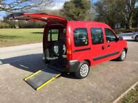 Renault kangoo 25000 Miles only Wheelchair access car/van disabled vehicle