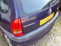 Vauxhall corsa, blue colour, 2004 year, Breaking and selling parts