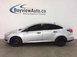 2015 Ford FOCUS S- 5 SPEED! TINT! A/C! REV CAM! SYNC! CRUISE!