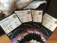 QUICK SELL 4 TAYLOR SWIFT TICKETS £35 EACH