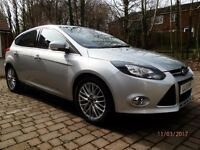 Ford Focus 1.6 Titanium - Diesel For Sale . Cruise Control, Auto Stop/Start, Taxed & MOT, Sat Nav.