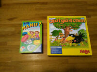 2 German Board Games for 3+years – Deutsche Kinderspiele