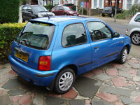 VERY LOW MILLEAGE NISSAN MICRA 'CELEBRATION'