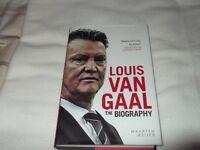 LOUIS VAN GAAL BIOGRAPHY HARDBACK BOOK