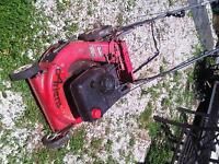 Airens self propelled lawn mower