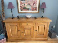 Beautiful French Made Oak Sideboard