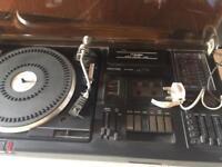 Bush vinyl record player
