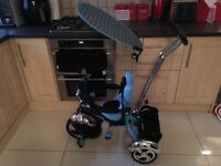 3 in 1 trike with sun canopy. Used a couple of times