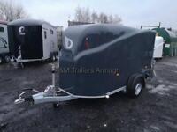 Camping trailer box trailer Debon cargo fully braked