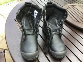 Brand New, Men's Padded Tuf Steel Toe Cap Work Boots Size 8