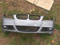 BMW e90 m sport front bumper complete