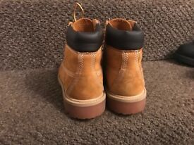 Timberland 6 inch boots size 13 tan wheat