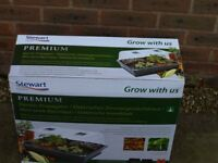 Stewart Premium Electric 52CM Propagator with Thermostatic Temp Control