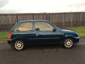 Nissan Micra full years mot cheap car!