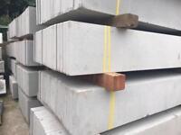 🌲 Plain Concrete Fencing Base Panels/ Gravel Boards