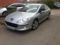 Peugeot 407 zenith 2.0 HDI 6 speed manual 06 plate full spec excellent condition £750