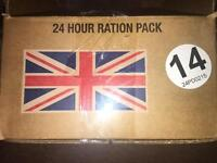 24hr British Army ration pack
