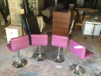 Purple stools x 4