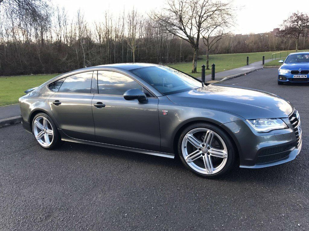 audi a7 3 0 tdi s line sportback 5dr 2011 semi automatic top specification in telford. Black Bedroom Furniture Sets. Home Design Ideas