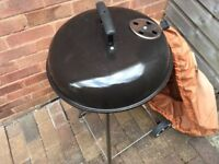 Manual barbecue never been used.