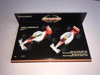 Minichamps F1 Ayrton Senna Mclaren Honda GP Model Car Set - Not Hotwheels Corgi