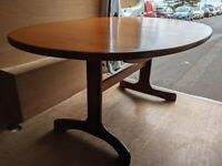 G Plan Fresco oval dining table (desk?!) - B & H delivery or 15 miles Danish teak era gplanera