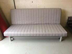 ***SOLD***Ikea Futon Sofa Bed with Storage Draw Grey Large Furniture Centre Gateshead