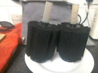 2x big sponge filters as per picture