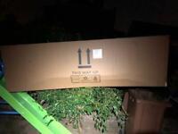 Huge empty cardboard box