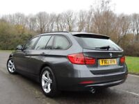 2013 BMW 320D SE TOURING GREY ESTATE FULL SERVICE HISTORY DIESEL TWIN TURBO