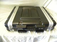 PULSE , 2 unit flight case. ABS construction.