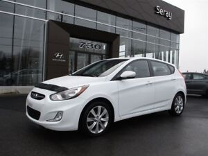 2013 Hyundai Accent GLS mags toit ouvrant 35657 km