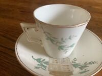 China cup and saucer commemorating Queen Victoria's Golden Jubilee