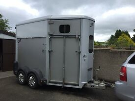 Ifor Williams 506 silver trailer for sale