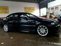 Bmw 318ci m sport black