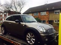2011 Mini Cooper D 61reg Diesel 80+MPG Zero Tax Salvage Damaged Repairable