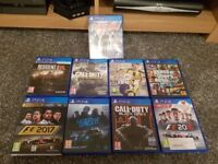 PS4 - 2 PADS - HEADSET & GAMES