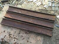 RSJ needles 1250 long by 152 by 89