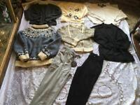 Ladies jumpers leggings bundle, Size : 6/8 used 8 items 12