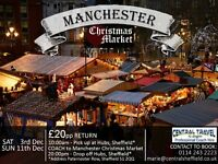 Coach Trip to Manchester Christmas Market *Voucher Gift*