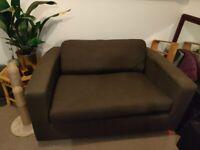 Small Charcoal Grey Habitat Sofa